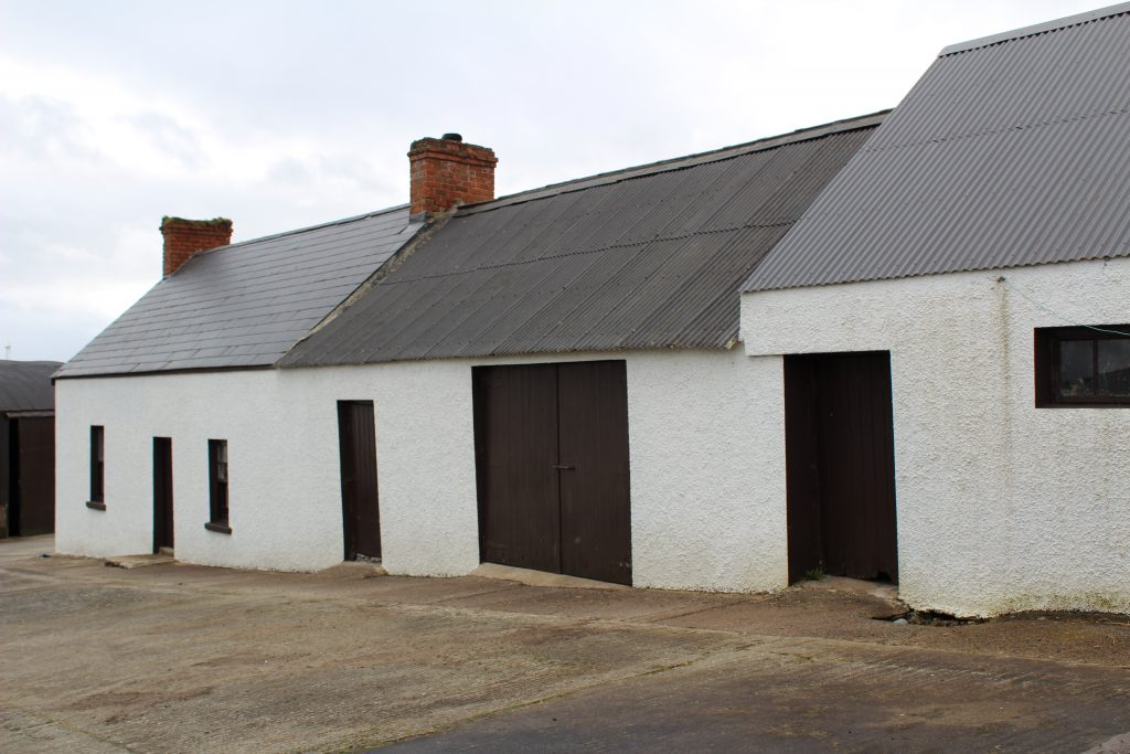 Original Farmhouse and Outbuildings