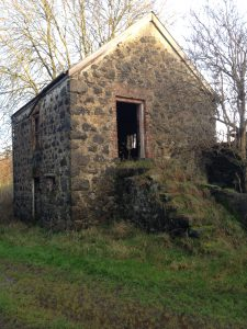 Traditional stone barn at the Beagh
